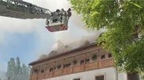Incendiu manastire Ramet