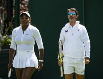 Serena Williams si Patrick Mouratoglou
