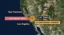 Sudul Californiei, zguduit de doua cutremure mari