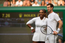 Serena Williams si Andy Murray