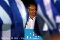 Kyriakos Mitsotakis, liderul partidului Noua Democratie