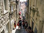 Strazi abrupte in Dubrovnik