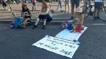 Protest Piata Victoriei 8