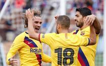 Antoine Griezmann, primul gol pentru Barcelona