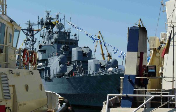 Ziua Porților Deschise pe navele militare (2)