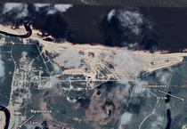 Zona de test din apropiere de Nyonoksa