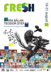 Expozitia artistilor Maria Bălan și Teodor Ștefan