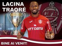 Lacina Traore a revenit la CFR Cluj