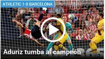Aduriz, super executie contra Barcelonei