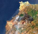 Incendiu de vegetatie in Gran Canaria