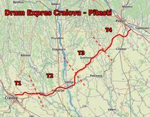 Drumul Expres Craiova - Pitesti pe tronsoane