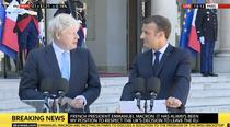 Emmanuel Macron si Boris Johnson