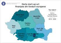 harta afaceri infiintate cu fonduri UE