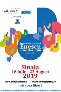 """Festivalul Internațional """"Enescu și muzica lumii"""""""
