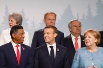Imagine de la summitul G7 de anul trecut