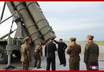Test cu rachete in Coreea de Nord 2