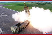 Test cu rachete in Coreea de Nord 5