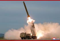 Test cu rachete in Coreea de Nord 7
