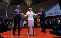 Teodorovici, Dancila, Fifor, la Congresul PSD