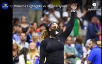 Serena Williams, inca o victorie cu Maria Sharapova