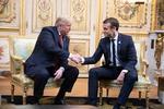 Trump și Macron