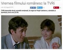 Anunt pe site-ul TVRi