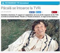 Pacala la TVRi