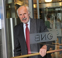 Guvernatorul austriac Ewald Novotny