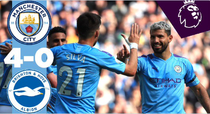 Manchester City, victorie categorica cu Brighton