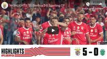 Benfica, prea buna pentru Sporting