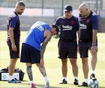 Lionel Messi si accidentarea suferita la antrenament