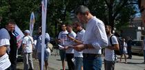 Dan Barna, strangere de semnaturi pentru candidatura la prezidentiale