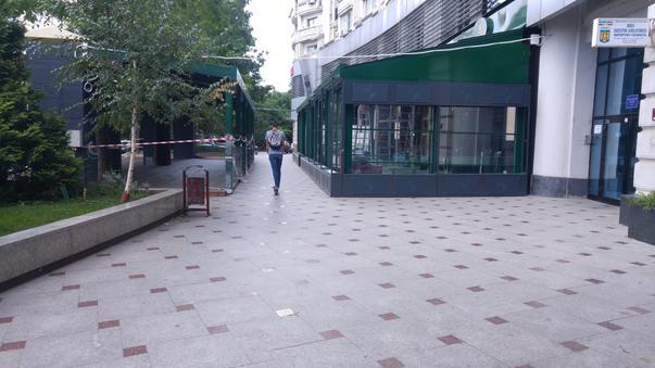 Extindere restaurant pe trotuar in Piata Alba Iulia