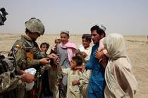 militar roman in Afganistan