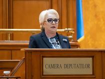 Viorica Dăncila, în Parlament