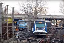 Metroul la suprafata in Bucuresti