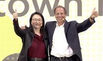 Cher Wang si Yves Maitre, HTC