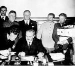 Semnarea Pactului Ribbentrop-Molotov