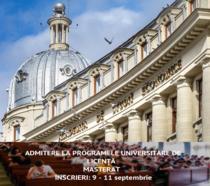 Admitere Academia de Studii Economice din București