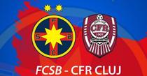 FCSB vs CFR Cluj, derbiul etapei a zecea din Liga 1
