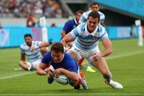 Franta a invins Argentina la CM de rugby