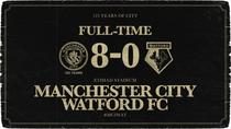 Manchester City vs Watford 8-0