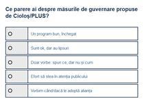Masuri guvernare Ciolos-PLUS