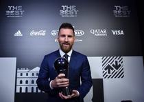 Lionel Messi, ales cel mai bun jucător al anului