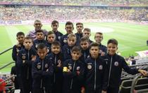 Copii pe Arena Nationala