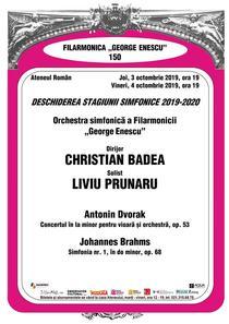 """Stagiunea simfonica 2019-2020 a Filarmonicii """"George Enescu"""""""