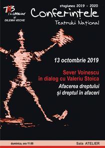 Conferintele TNB, 13 octombrie 2019