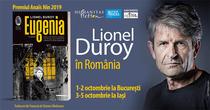 Lionel Duroy vine in Romania