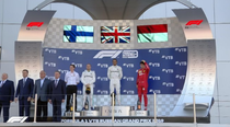 Hamilton, Bottas si Leclerc, pe podium in MP al Rusiei
