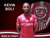 Kevin Boli a revenit la CFR Cluj